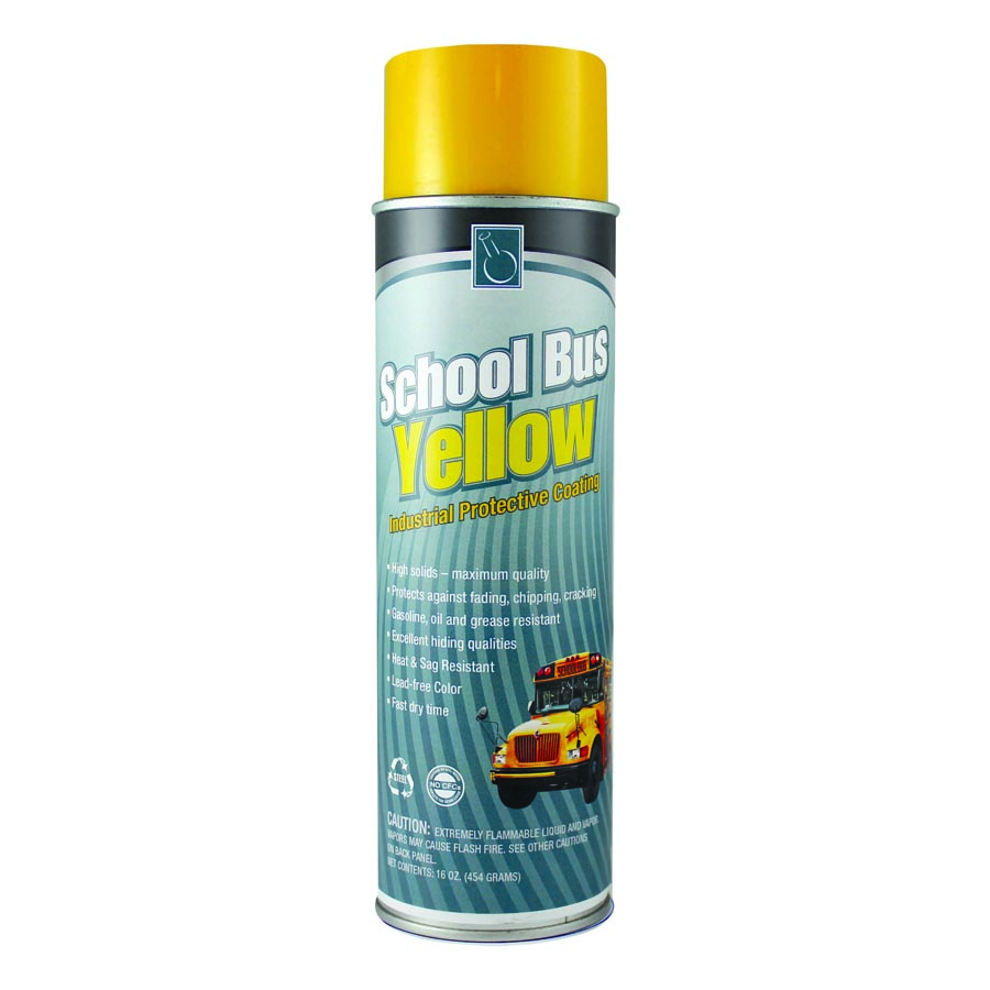 School Bus Yellow (6/case) | Continental Research Corporation